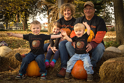 For 6 generations, the Howell Family has farmed this land in Madison County, Iowa, today the site of Howell's Florals and Pumpkin Patch