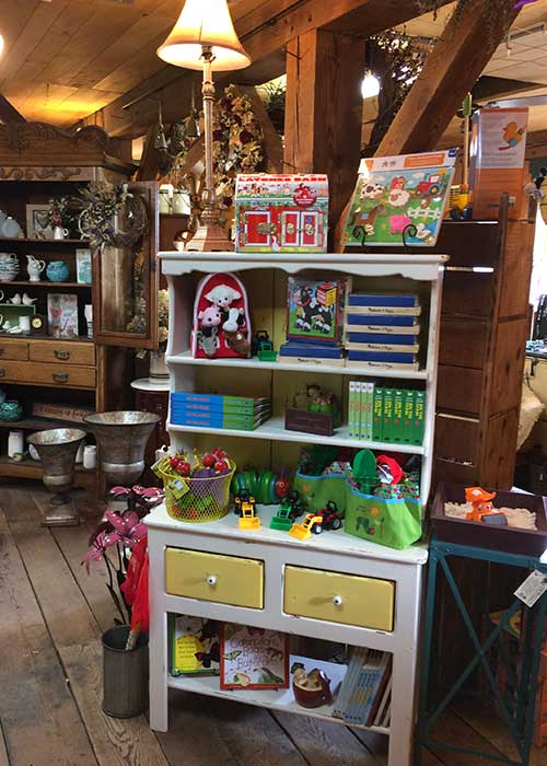 Our gift barn is filled with great gifts for babies and toddlers